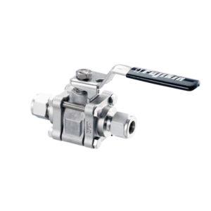 1. 3 pieces ball valves vubv series