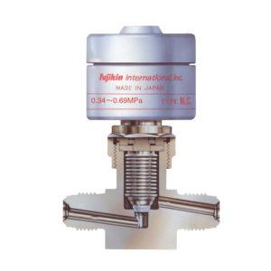 1.Pneumatically actuated bellows valves(FPR Series)